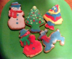 image: holiday cookies