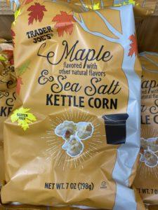 Maple Sea Solt Kettle Corn